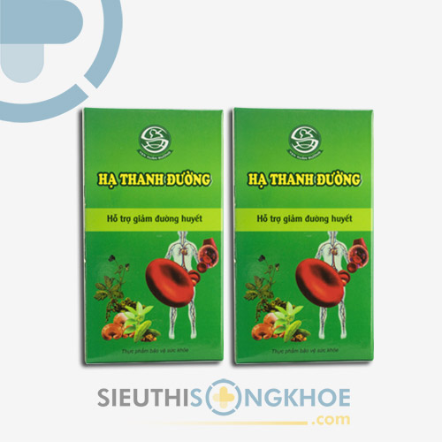 Hạ Thanh Đường - Thảo dược Hạ và Ổn định đường huyết- Liệu trình 2 hộp