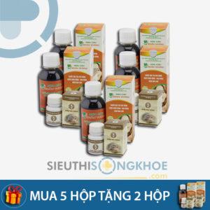 Nha Chu Hoàn Vương – Liệu trình mua 5 bộ tặng kèm 2 bộ