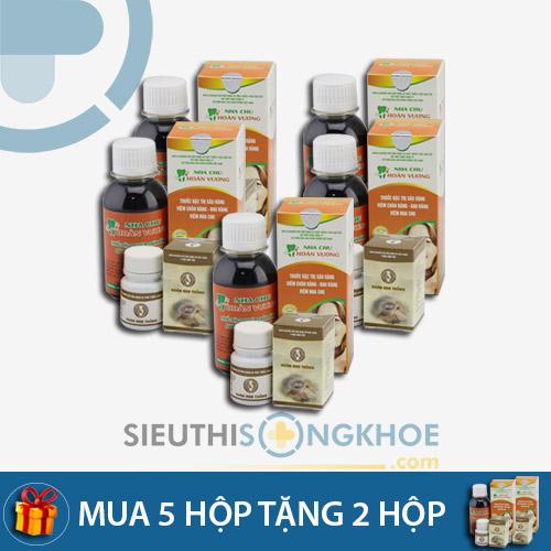 Nha Chu Hoàn Vương - Liệu trình mua 5 bộ tặng kèm 2 bộ