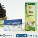 Komil - Dung Dịch Hỗ Trợ Điều Trị Hôi Miệng