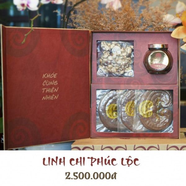 Hộp quà Linh chi Phúc lộc - Linh Chi Trường Sinh