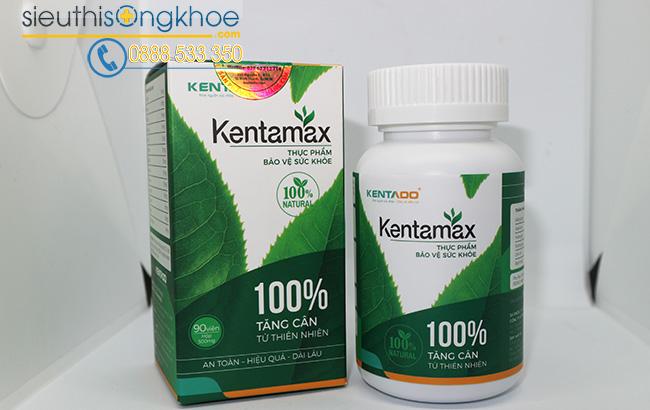 Thành phần thuốc tăng cân Kentamax có thảo dược mạch nha