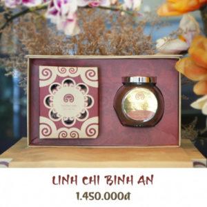 Hộp quà linh chi Bình An - Linh chi trường sinh