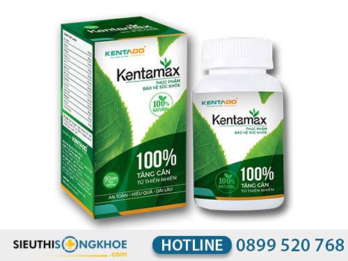 thuốc tăng cân kentamax có tốt không