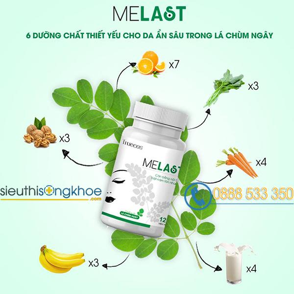 phản hồi khách hàng dùng viên uống trị nám Melast