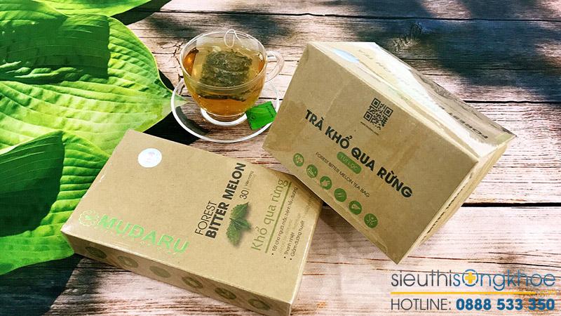 cách làm trà mướp đắng rừng