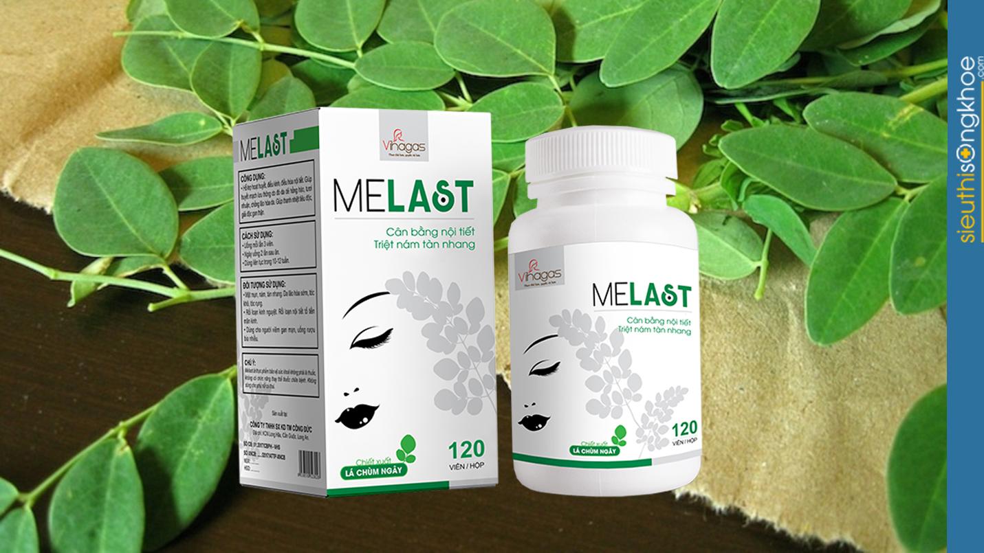 viên uống trị nám Melast