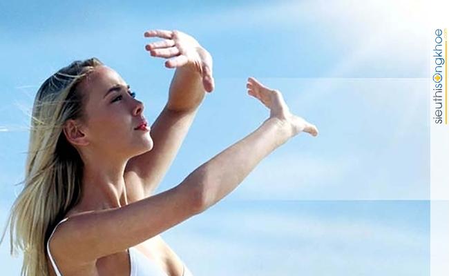 ngăn cản tác động tiêu cực từ tia UV
