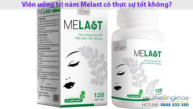 Viên uống chùm ngây trị nám Melast có thực sự tốt không?