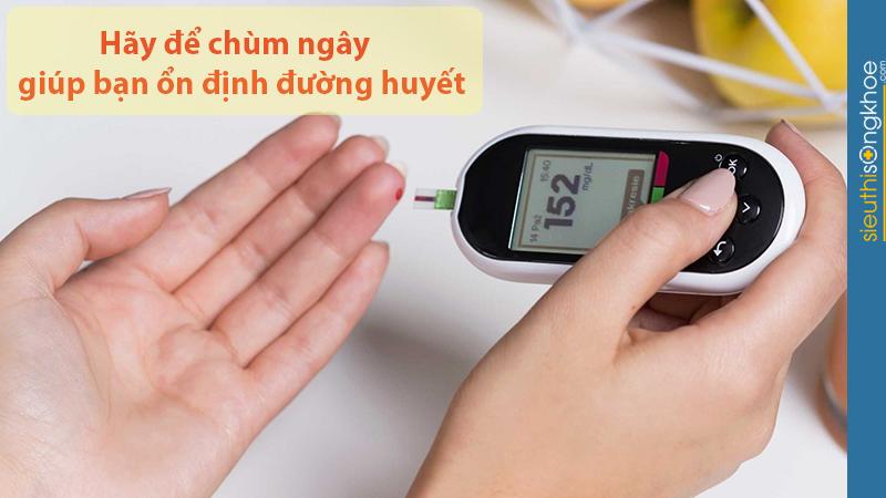 chùm ngây giúp ổn định đường huyết