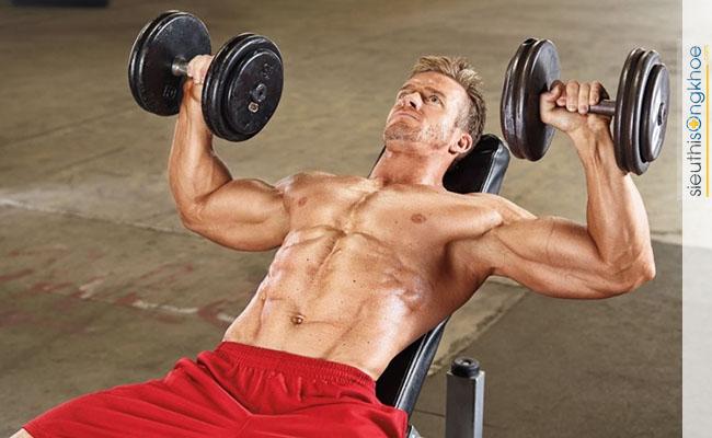 tập gym tăng cân