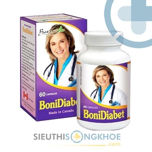 BoniDiabet - Viên Uống Hỗ Trợ Ổn Định Đường Huyết