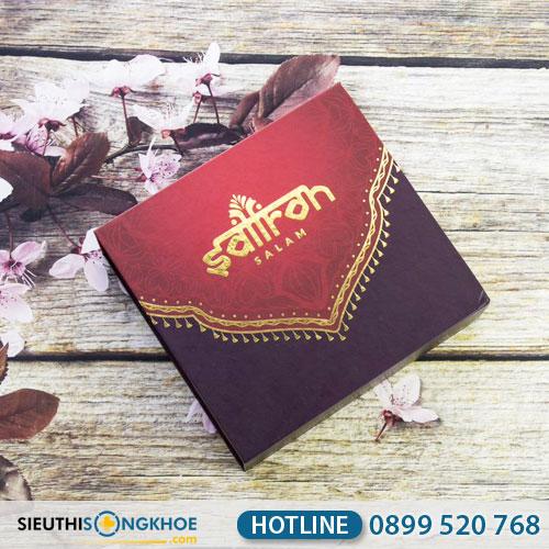 Set Nhuỵ Hoa Nghệ Tây Saffron (5gr) - Tăng Cường Sức Khỏe, Đẹp Da