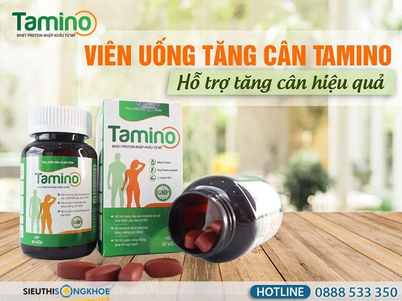 thuốc tăng cân hiệu quả tamino