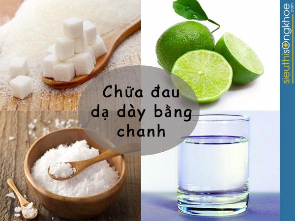 chua dau da day tai nha bang chanh
