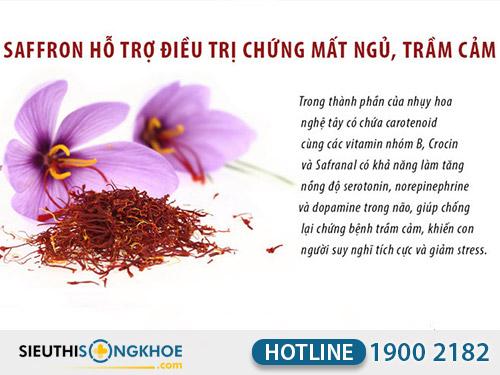 công dụng của nhụy hoa nghệ tây saffron việt nam