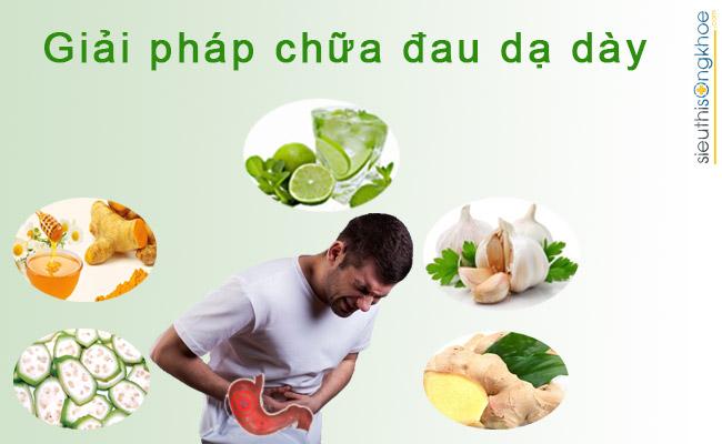 giai phap chua dau da day tai nha