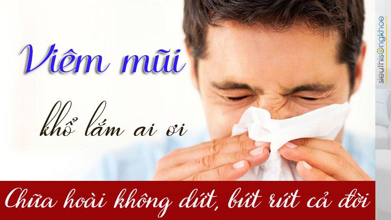 kết hợp hai phương pháp điều trị viêm mũi dứt điểm