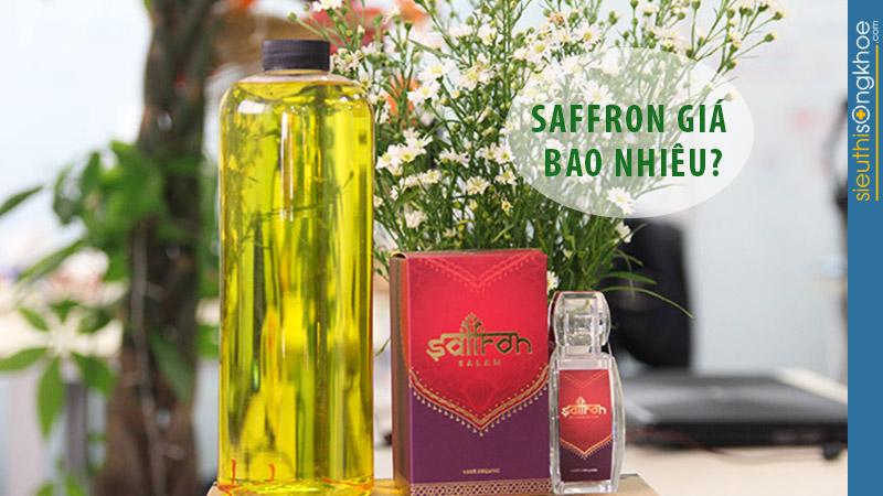 nhụy hoa nghệ tây saffron việt nam giá bao nhiêu