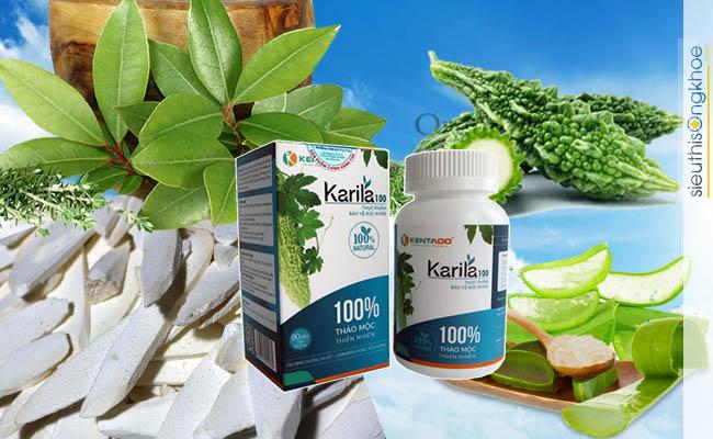 Viên uống tiểu đường Karila