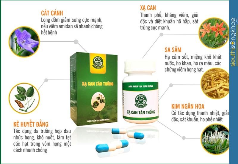 top 3 sản phẩm hỗ trợ điều trị viêm họng hiệu quả và an toàn