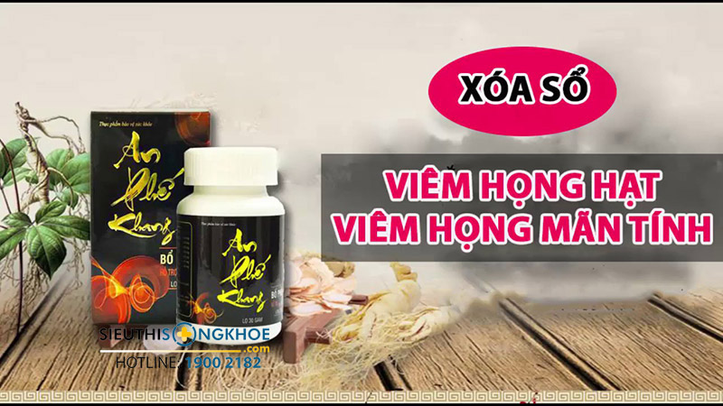 an phe khang chua viem hong hat co thuc su hieu qua khong
