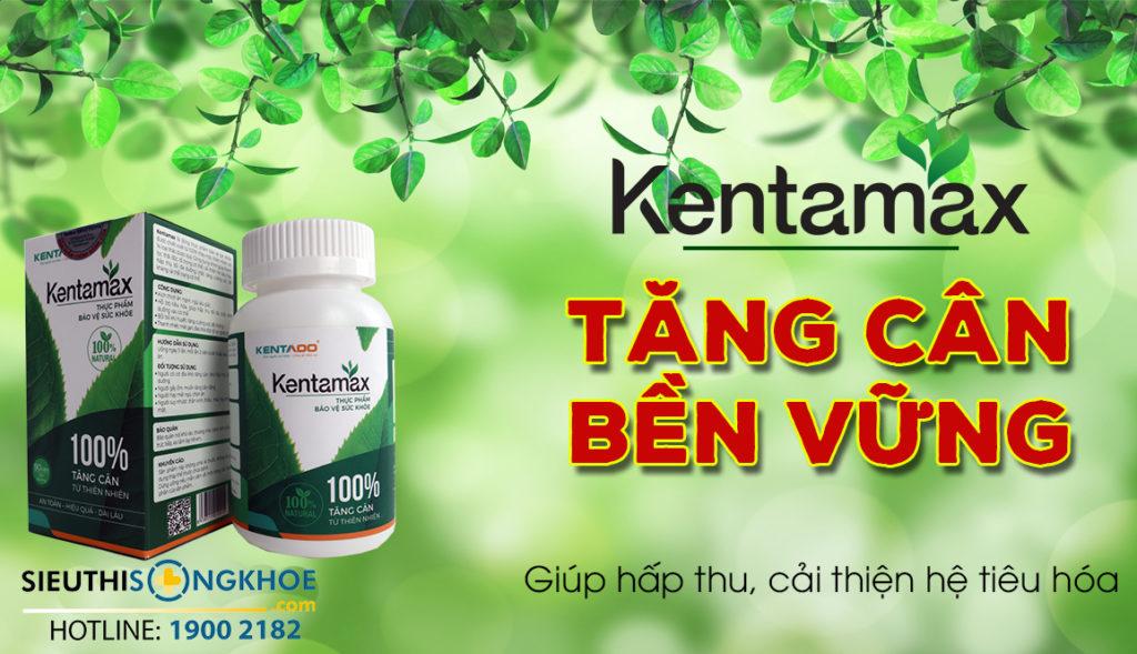 thảo dược tăng cân Kentamax