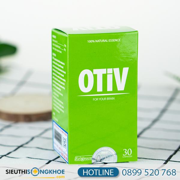 OTiV (30 viên) - Viên Uống Hỗ Trợ Bổ Não