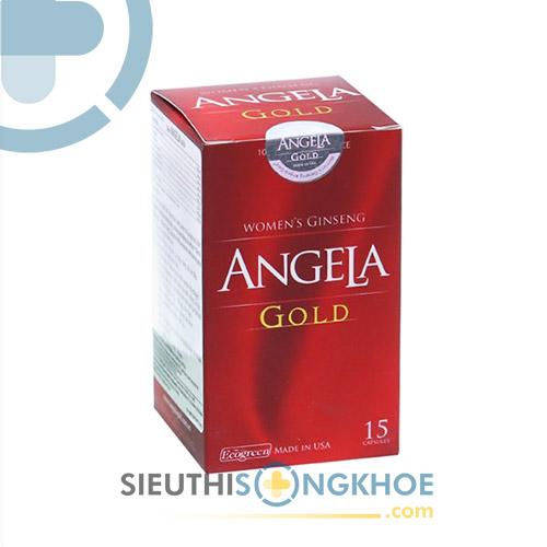 Sâm Angela Gold Hộp 15 viên