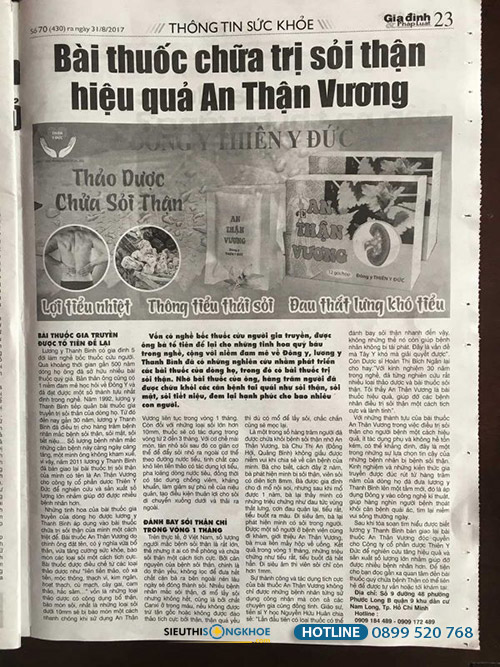 an than vuong co tot khong