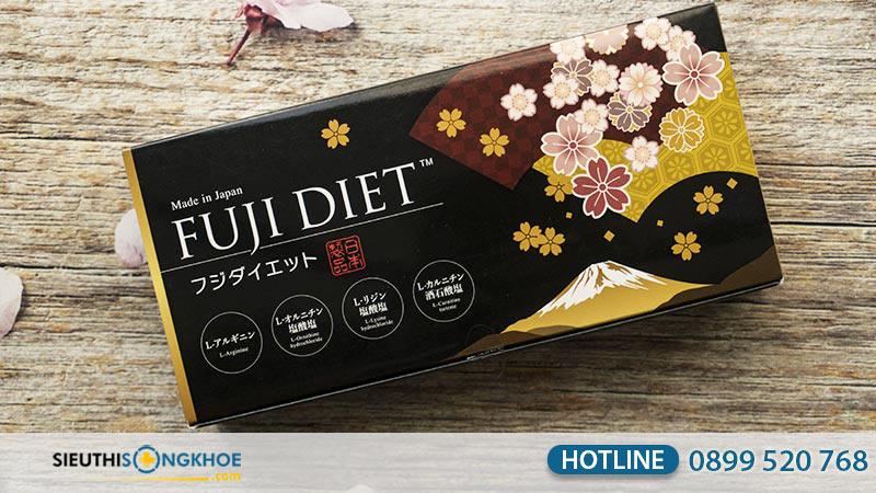 viên uống giảm cân fuji diet giá bao nhiêu