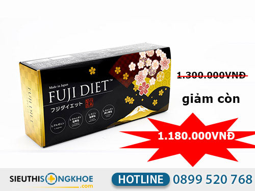 đánh giá viên uống giảm cân fuji diet