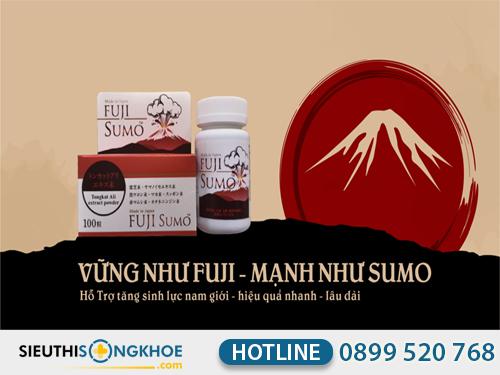 thành phần của viên uống hỗ trợ sinh lý nam giới fuji sumo