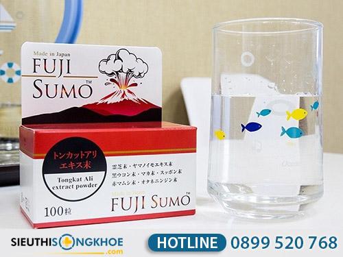 hướng dẫn sử dụng viên uống fuji sumo