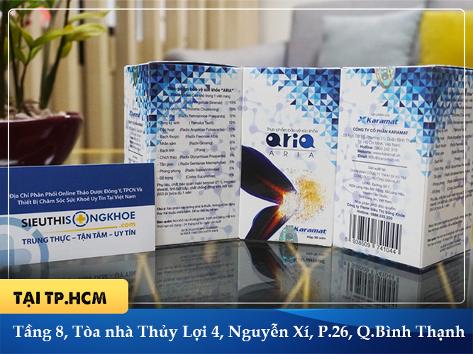 Xương khớp Aria lừa đảo - địa chỉ mua Xương khớp Aria chính hãng tại Công ty Siêu Thị Sống Khỏe