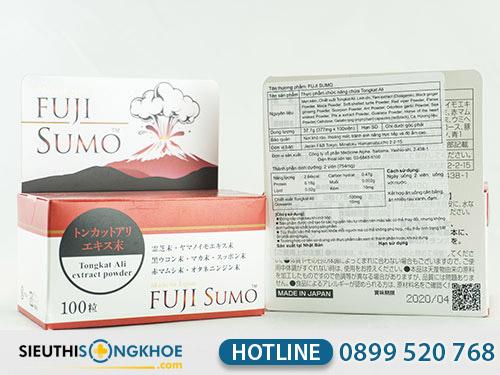 cách phân biệt thật giả viên uống fuji sumo