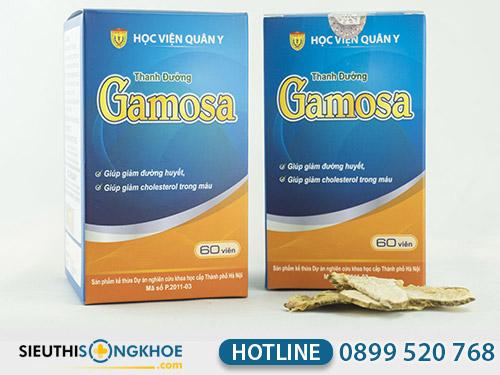 hướng dẫn sử dụng thanh đường gamosa