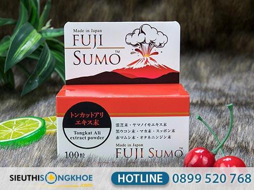 viên uống hỗ trợ sinh lý nam fuji sumo lừa đảo