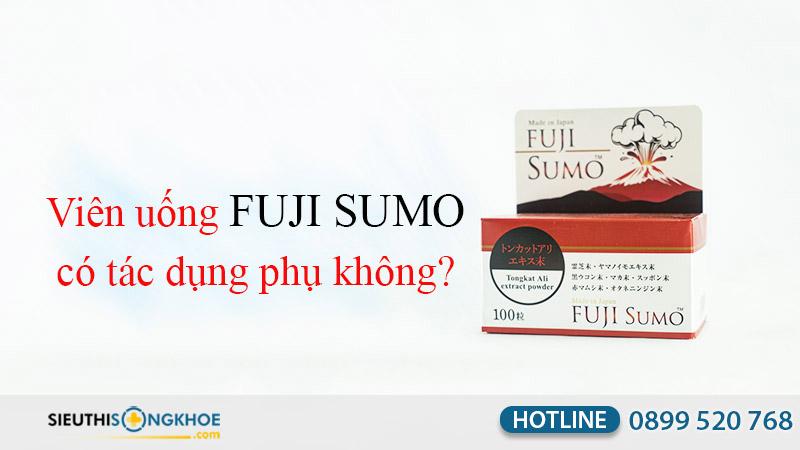 viên uống fuji sumo có tác dụng phụ không