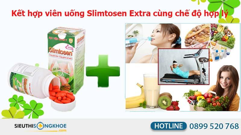 cách sử dụng viên nang slimtosen extra