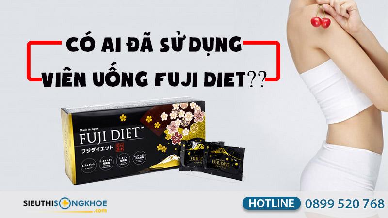 có ai đã sử dụng viên uống fuji diet