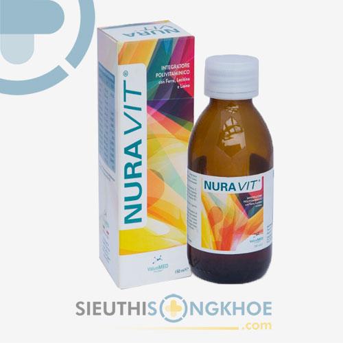 Nuravit - Siro Hỗ Trợ Trẻ Ăn Ngon, Tăng Cường Sức Khỏe