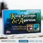 King Fucoidan & Agaricus - Viên Uống Tảo Nâu Hỗ Trợ Cho Người Bị Ung Thư, U Bướu