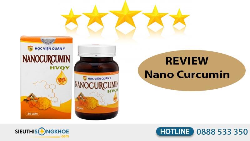 review nano curcumin học viện quân y