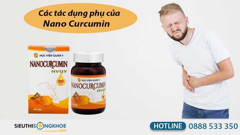 tác dụng phụ của nano curcumin