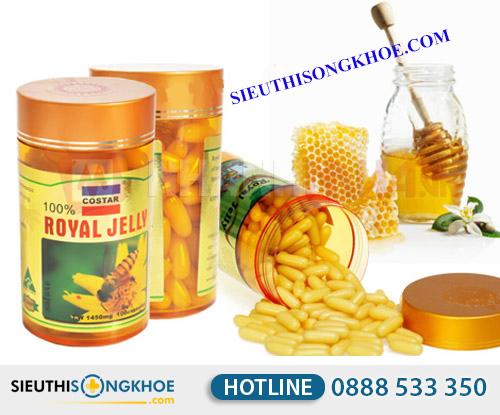 Sua ong chua costar royal jelly 1450mg 4