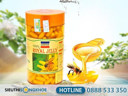 Sua ong chua costar royal jelly 1450mg 8