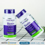 Biotin Natrol - Viên Uống Hỗ Trợ Mọc Tóc Nuôi Dưỡng Mái Tóc