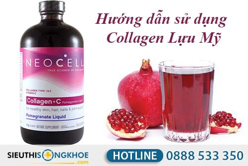 cach dung collagen c luu