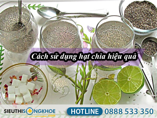 cach dung hat chia tim uc